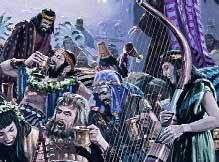 Image result for king belshazzar was a drunk