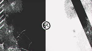 abstract glitch sad face full hd desktop wallpaper