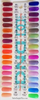 Dnd Duo Color Chart Daisy Dnd Duo Gel Swatches In 2019 Color Change Nail