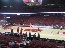 Uw Kohl Center Seating Chart Kohl Center Section 107 Rateyourseats Com