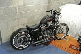 Harley Davidson Sportster 72 1200 Bobber Motorbike  Pinterest