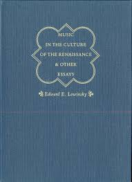 music in the culture of the renaissance and other essays lowinsky  addthis sharing buttons