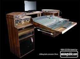mixingtable dot com walnut gs r24 sliding desk