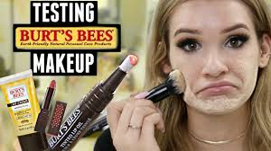 testing burt s bees makeup is it any good worth it or toss it