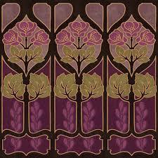 art nouveau wallpaper art deco