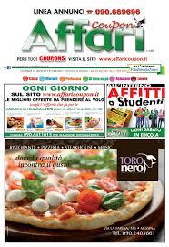 Giornale affari annunci messina 29 agosto 2015 by editoria falco