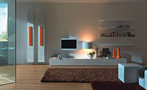 Wall furniture for living room Wall Mounted Architecture Art Designs 40 Contemporary Living Room Interior Designs