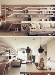 felines first home design has cats in