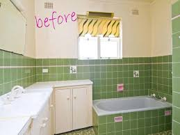 can you paint bathroom tile to match grey tiles