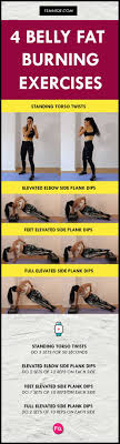 Plank Exercise Chart 4 Belly Fat Burning Exercises To Uncover Your Abs Viva La