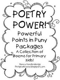 poetry power powerful points in puny packages i finally had time to put all 2nd grade writingfirst