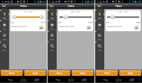 App Slider Design Mobile Design Pattern Inventory Based Discrete Slider