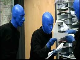 behind the scenes with blue man group and fox5
