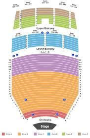 Tucson Music Hall Seating Chart Tucson