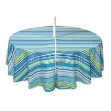 outdoor tablecloth with zipper umbrella tablecloth with