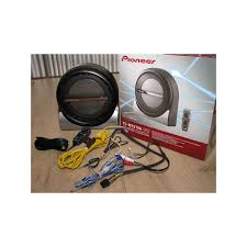 pioneer 8 inch subwoofer. pioneer ts-wx210a 8-inch active underseat subwoofer by pioneer. loading zoom 8 inch