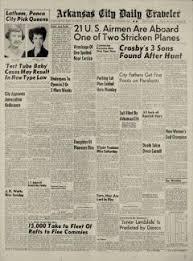 Arkansas City Traveler Archives, Oct 25, 1954, p. 2