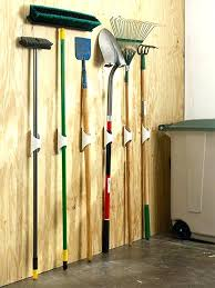 garden tool hangers how to hang garden tools in shed organize your garage by making a yard tool storage how to hang garden tools garden tool hangers for