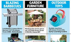 easter bargains best bank holiday deals from barbecues to garden furniture daily mail