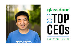 today zoom announced that our founder and ceo eric s yuan has won a glassdoor employees choice award honoring the top ceos in 2018
