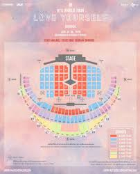 Bts World Tour 2018 Seating Chart