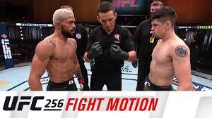 UFC 256: Fight Motion - YouTube