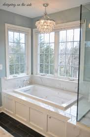 master bath marble tile sw rain crystal chandelier tile that vintage bathroom chandelier bathroom chandeliers argos