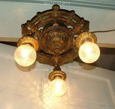 antique 1920 ceiling light fixtures designs