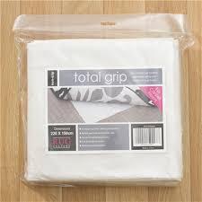 rug culture total grip non slip underlay carpet floor 160 x 110cm