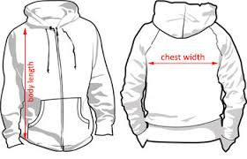 Pullover Size Chart Size Chart Hoodies Orangeboxasia Com Singapore