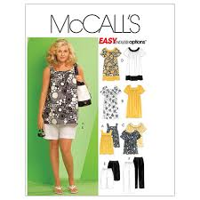 Mc Calls Patterns Impressive McCall's Women's Tops Dresses Shorts and Capri Pants Pattern M48