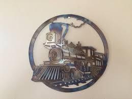 iron wall decor u love: old train metal sculpture metal wall art decor