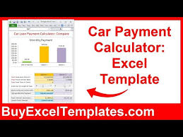 Good Car Loan Amortization Schedule Excel Template Rescue