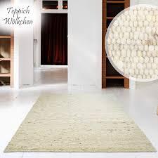 Hand Web Teppich Reine Schur Wolle Im Skandinavischen Design Für