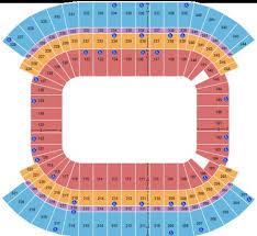 Nissan Stadium Chart Nissan Stadium Tickets In Nashville Tennessee Nissan