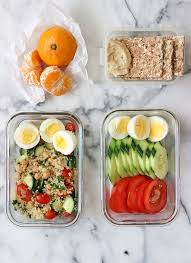 healthy vegetarian lunch idea easy to make and bring to or the office