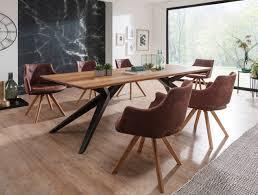 Esszimmertische Und Tischplatten Aus Massivholz Skanmøbler
