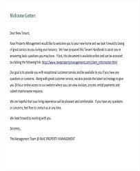 Property Management Transfer Letter Example Sample