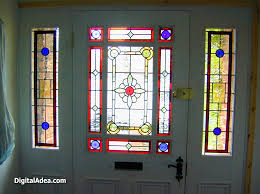 Impressive Elegant Front Entry Doors Stained Glass Door I Inside Ideas