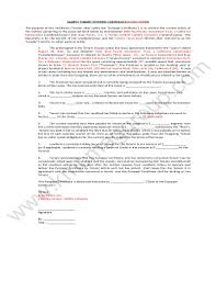 Hoa Certification Form Fill Online Printable Fillable Blank