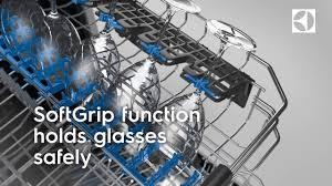 glass care electrolux dishwasher