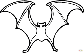 Small Picture Bat 13 coloring page Free Printable Coloring Pages