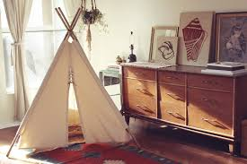 awesome beige teepee for kids in astonishing kids bedroom along with three tiered wooden drawer astonishing kids bedroom