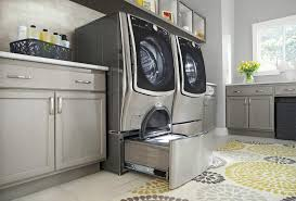 image of decorative laundry room rug