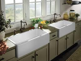 unique double farm sink of farmhouse kitchen pictures 11 16 sinks