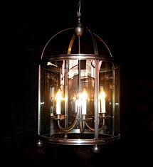 glass chandelier with panels 22 w x 37 h