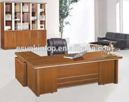 office table designs. Latest Design Office Table Design, One Front Desk And A Side Table, Customized Size Designs