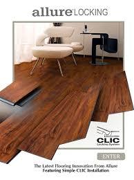 allure locking resilient flooring vinyl flooring allure flooring