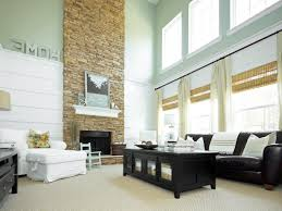 Wooden Arm Chairs Living Room Modern Living Room With Stone Fireplace White Wooden Laminate Arm