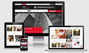 responsive blogger templates easy magazine blogger template bthemez